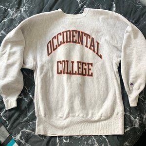Champion Reverse Weave Occidental College Spellout